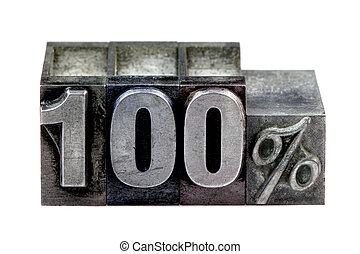 100%, 凸版印刷