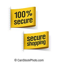 100%, 安全である, 買い物