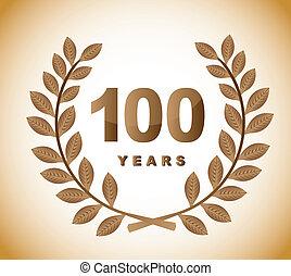 100, 年
