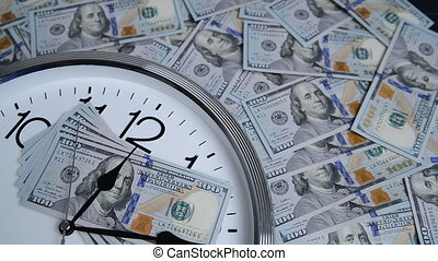 $100 are on the clock. Denominations of 2009.