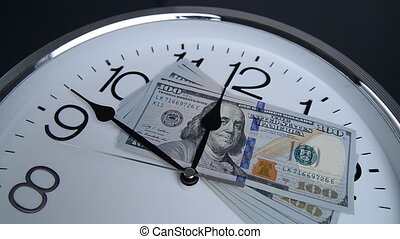 $100 are on the clock. Denominations of 2009. - 100 are on...