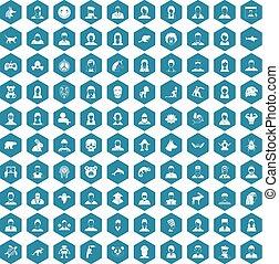 100 avatar icons sapphirine violet
