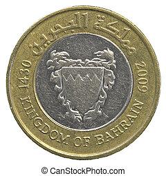 100, bahraini, dinar, mynt