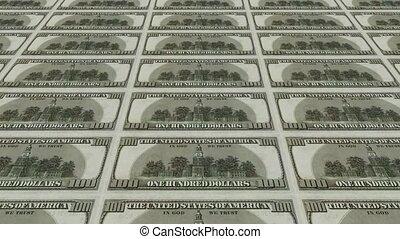 100, dollar, dos, factures