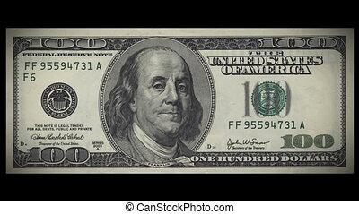 100 dollarrekening, botsingen