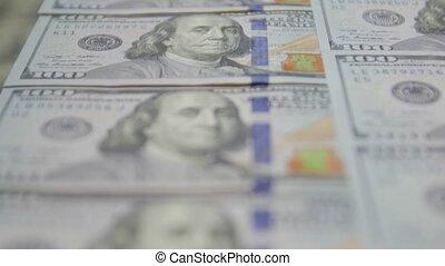 100 Dollars Bills Banknotes - 100 dollars bills banknotes ...