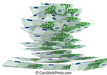 100 Euro - flying money