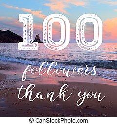 100 followers achievement
