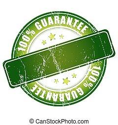 100% guarantee green stamp.