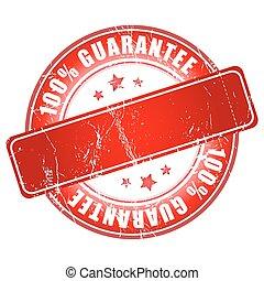 100% guarantee red stamp.