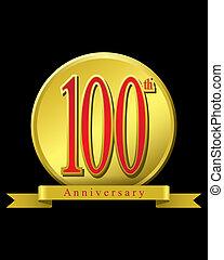100, jubiläum, jahre