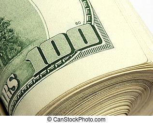 $100, lagförslaget, rulle