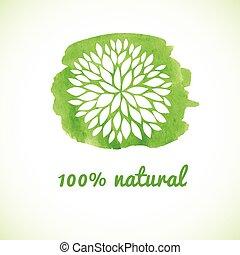 100 % natural.