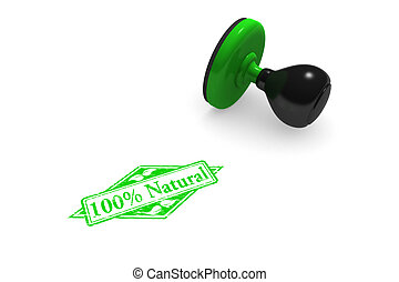100% Natural Rubber Stamp