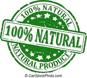 100%, naturale, prodotto