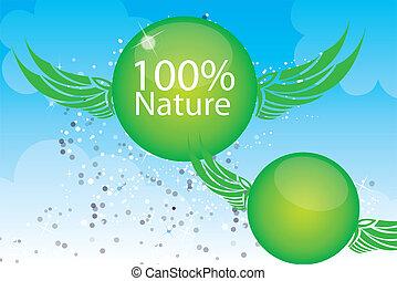 100 nature illustration