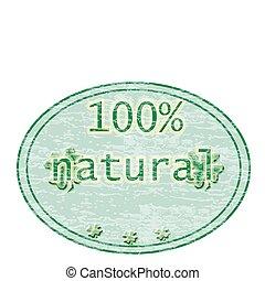 100%, naturel