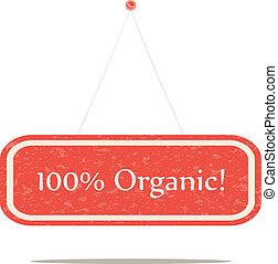 100% organic