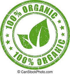 100 organic rubber vector stamp