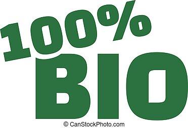 100 percent bio