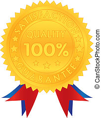 100 percent guarantee satisfaction quality