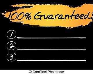 100 Percent Guaranteed Blank List
