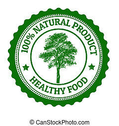 100 Percent Natural Product stamp - 100 Percent Natural...