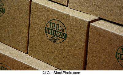100 percent natural stamp and stamping