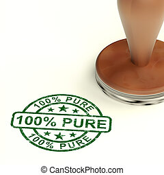 100% Pure Stamp Shows Natural Genuine Products