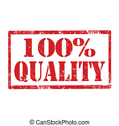 100% Quality-stamp