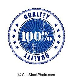 100% Quality Stamp.