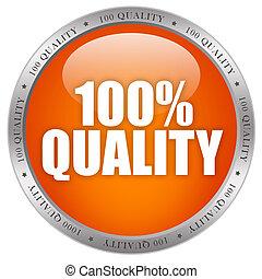 100 quality shiny button