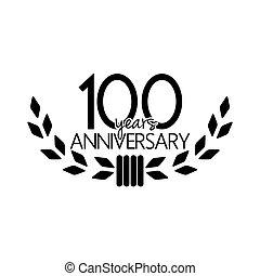 100, rocznica, lata