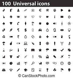 100 Universal icons set