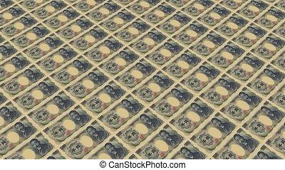 1000 japan yen,Printing Money
