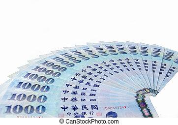 1000 New Taiwan Dollars