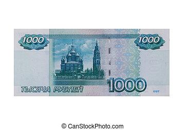 1000 roubles