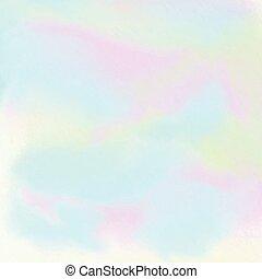 1005, aquarelle, hologramme, fond, effet