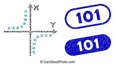 101, 楕円, hyperbola, モザイク, プロット, textured, シール