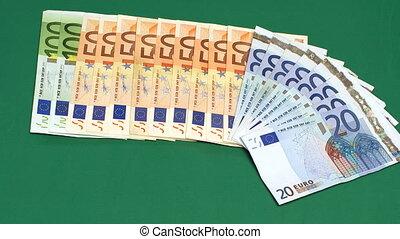 Timelapse Euro Money rota