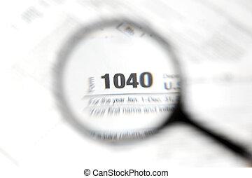 1040 forma imposto, fundo