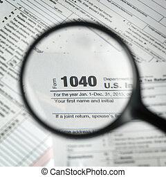 1040 forma tassa, fondo
