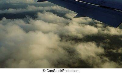 Flight approach above Ile De La Reunion - 1080p, Flight ...