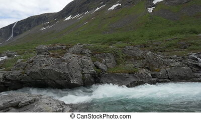 1080p, Flowing River Pan, Norway - Nature Of Norway, ...