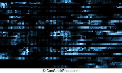 10911, erreur, aléatoire, signal, numérique, glitch