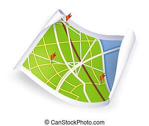 10eps, carte route