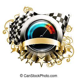 10eps, rennsport, emblem