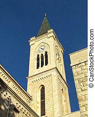 11 月, franciscan, タワー, 教会, jaffa, 2011
