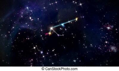 11 Aquarius Horoscopes space rotation - the zodiac sign...
