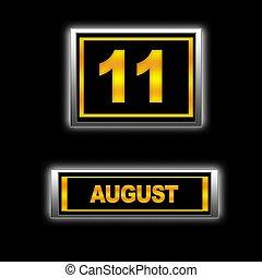 11., augusti